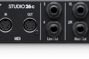 Studio 26c - interfejs audio/MIDI