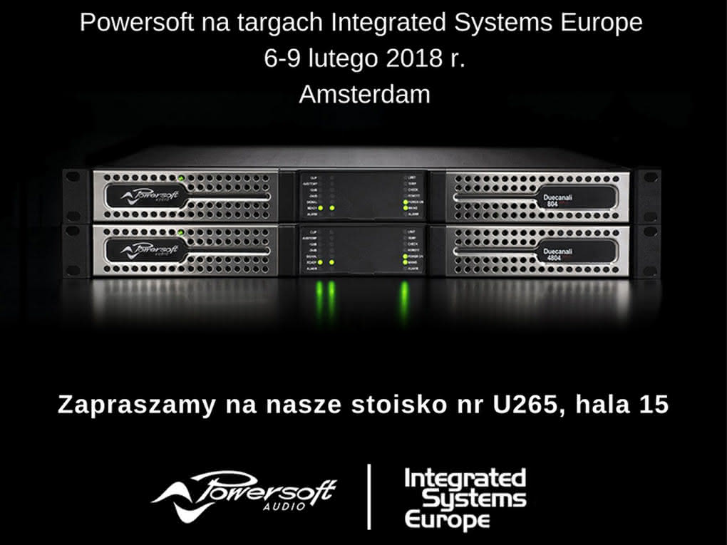 POWERSOFT na targach Integrated Systems Europe