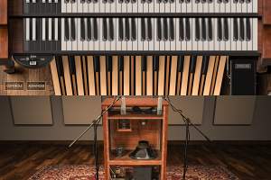 IK Multimedia Hammond B-3X - emulator organów Hammonda