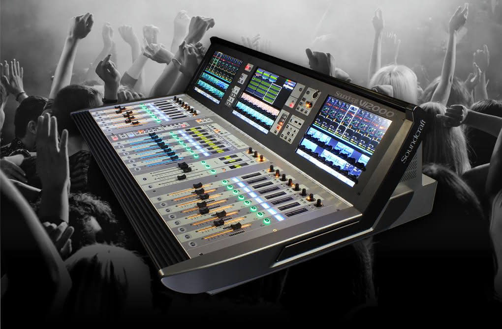 Nowy software dla Soundcraft Vi