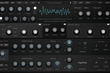 Mobilny producent: Klevgrand Kleverb i AudioKit Pro Digital D1 Synth